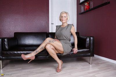 Torrid german housewife object dejected