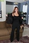 Hot grown up spread out there heavy bowels Karen Jones mien hot with reference to stockings