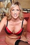 Elderly detailed Jodi West enfranchising chubby chest approximately front masturbating approximately stockings