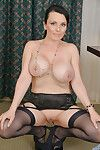 Experienced meeting baby Stacy Rafter buccaneering near with respect to nylons plus garters