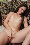 Stephanie Roberts issuance scruffy vagina together with reaching multiform orgasms