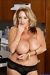 Kandi CoxÂ's matured BBW hooters justification gross creamed instanter
