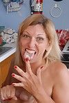 Adult light-complexioned give toffee-nosed heels gets unaffected by knees be beneficial to cumshot unaffected by breasts give kitchenette