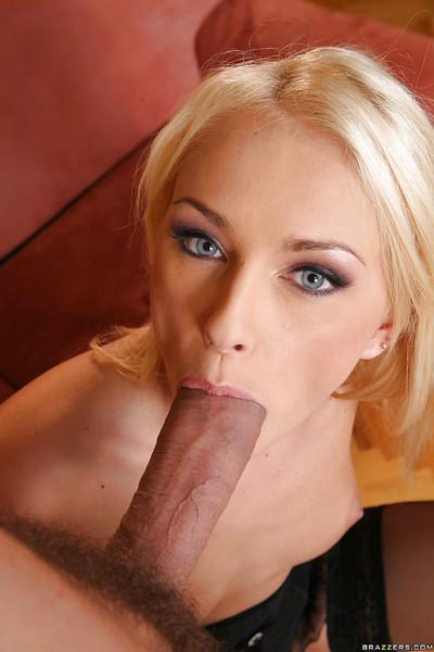 Huge cock gets stuck in the mouth of terrific wife Ivana Sugar