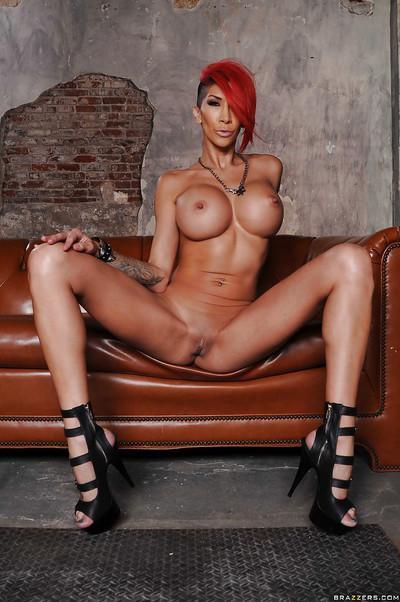 Hot latina Kayla Carrera undressing and showcasing her ravishing flexy body