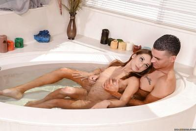 Loyal lesbian India Summer works good on Sara Luvv