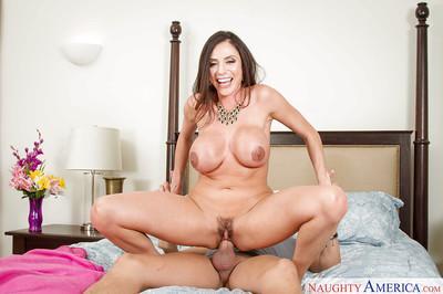 Latina milf Ariella Ferrera is giving a deep blowjob on the cam