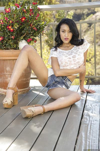 Asian hottie Jayden Lee looks like a horny big-tit bombshell