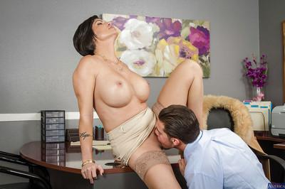 Hardcore mommy Shay Fox is fucking nasty with cocky gentlemen