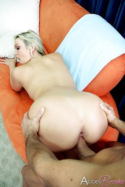 Blonde cougar Abbey Brooks is a hundred-percent hot pornstar