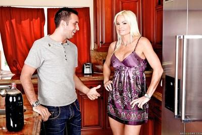 Horny MILF Rhylee Richards is one on one with a big cock