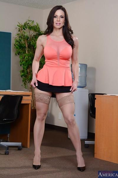 Kendra Lust is one busty MILF that has a good booty and nice tits