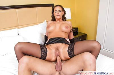 Kinky MILF Phoenix Marie taking tongue, toys and big dick in filthy asshole