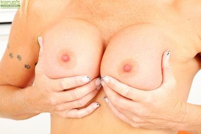 Milf mom Dani Dare showing her great figure and big titties