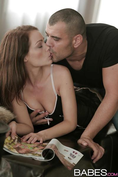 Hardcore sex and deep ass fucking for beautiful MILF Sophie Lynx