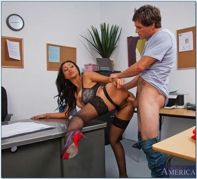 Slutty teacher Priya Anjali Rai gets banged by a horny student
