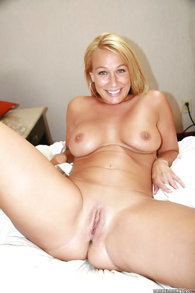 Gorgeous MILF Mellanie Monroe gets  her cunt creampied after fervent gangbang