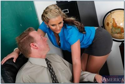 Hot MILF teacher Phoenix Marie in wild hardcore reality porn.
