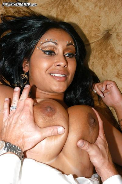 Clothed Idian milf Priya Rar does a blowjob before a hardcore sex