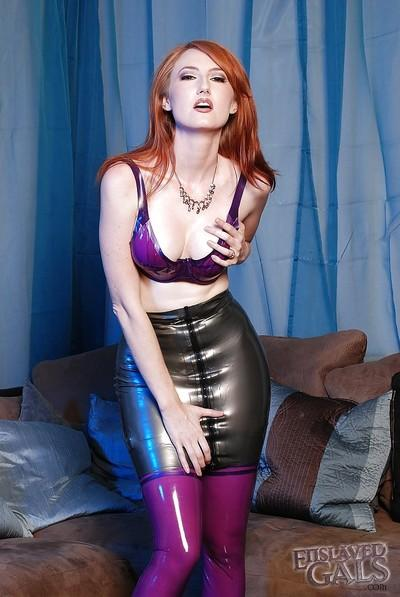 Ravishing milf Kendra James begins her wonderful fetish adventure