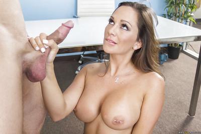 Office sex scene features big tits office lady Destiny Dixon