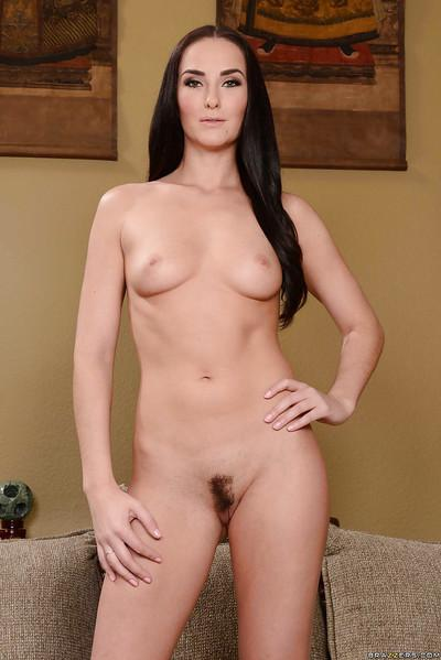 Sweet milf Bianca Breeze shows up her amazing slender silhouette