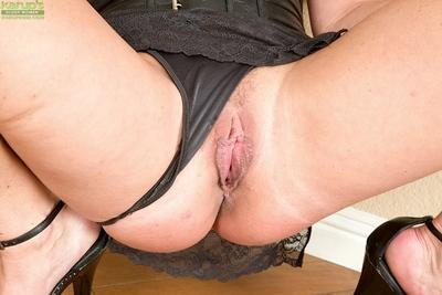 Jolly milf Dayton Rains working with big tits and masturbating hard