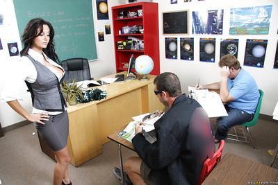Busty MILF teacher Ava Addams got her heated cunt fucked hard