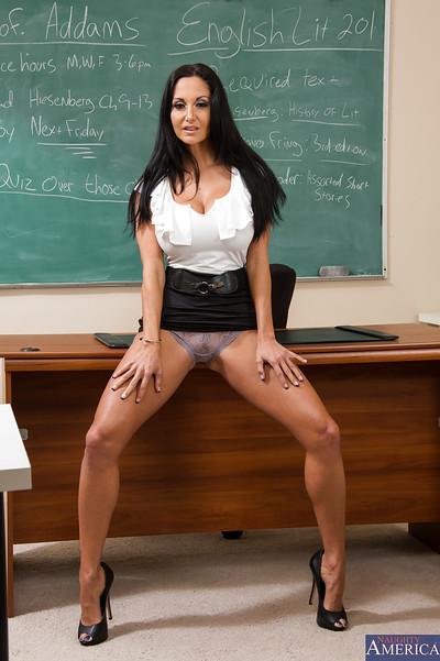 European teacher Ava Addams has a new method of teaching