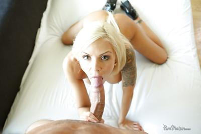 Close up hardcore fuck features an milf beauty with big tits Nina Elle