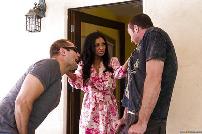 Priya Anjali Rai gets facialized after hardcore fucking with a well-hung guy