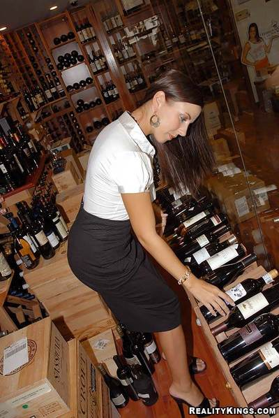 This serious wine connoisseur is a milf addicted to big cocks