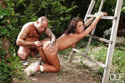 BDSM fuck of an superb wife Nikita Belluci and her filthy man