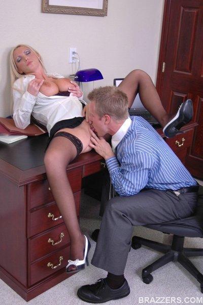 Office nikki stockings benz