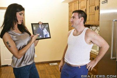 Slutty wife with big juggs Shay Sights is into hardcore ass fucking