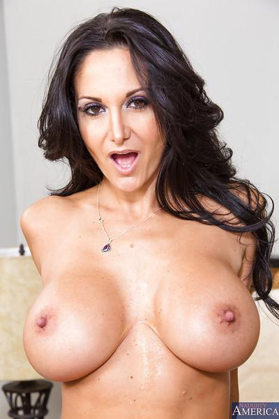 Hardcore cougar Ava Addams is treated like a real queen of sex