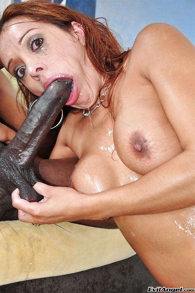 Latina milf Francesca Le wants that interracial blowjob to happen