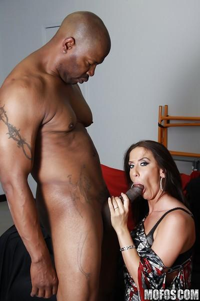 MILF babe Gianna Foxxx with big tits into hardcore interracial fucking