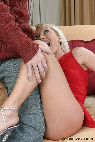 Steamy european MILF gets screwed tough and tastes some hot jizz