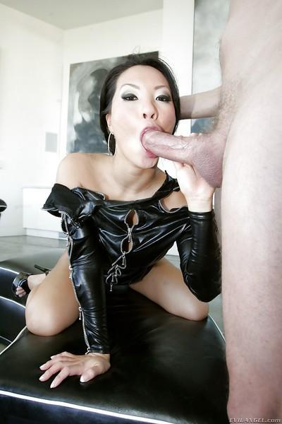 Hardcore anal sex with a beautiful Asian milf Asa Akira and her man