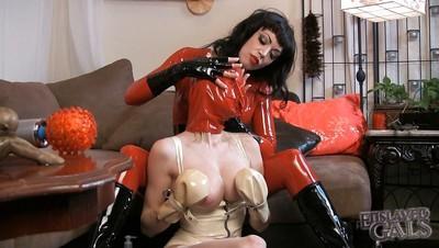 Jean Bardot brings BDSM and femdom to splendid slut Emily Parker