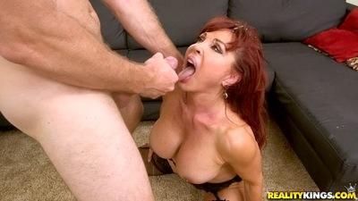 Big tits Cougar milf Vanessa Bella has her Latina pussy fucked hardcore