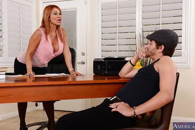 Amazing hardcore milf teacher Ava loves to eat that huge cock