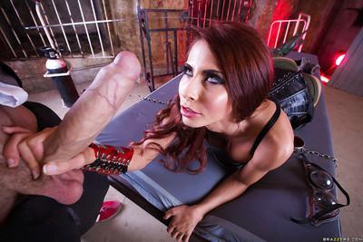 Big-cocked fucker is drilling slender pornstar Madison Ivy!