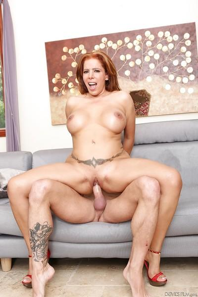 Latina Milf Nicky Ferrari is spreading her legs for a good pussy fuck