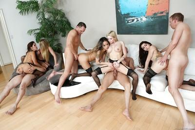 MILF porn with Francesca Le, Mandy Muse, Nadia Styles and AJ Applegate