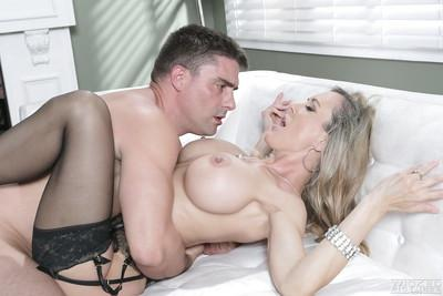 Pornstar Brandi Love fucks in the office with her new cocky boss