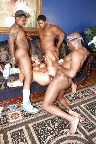 Katie Summers is feeling herself nice during interracial gangbang