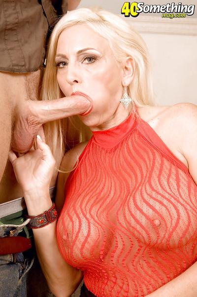 Plump mommy with humongous tits Cala Craves starring in hardcore reality sex