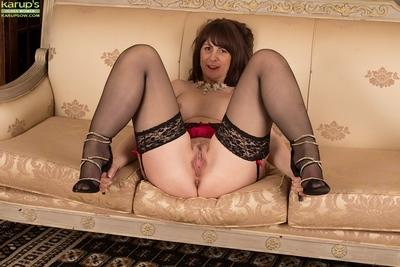 The silky feeling of stockings makes Toni Lace